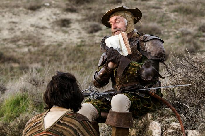 Jonathan Pryce with Adam Driver, The Man Who Killed Don Quixote