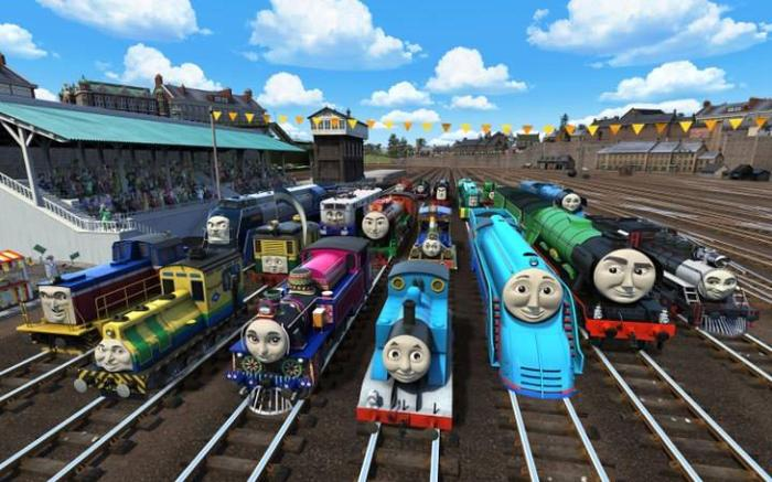 Thomas The Tank Engine Has A New Aussie Mate Called Shane Because Of