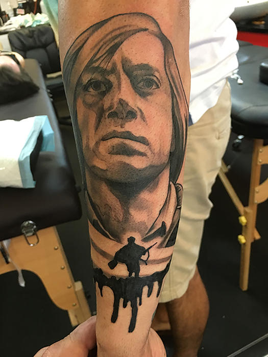 Why I Have A Tattoo Of Javier Bardem S Anton Chigurh From
