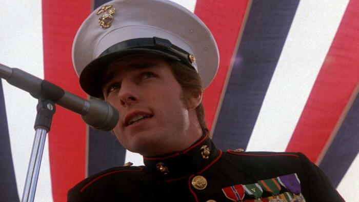 Born on the Fourth of July, Tom Cruise