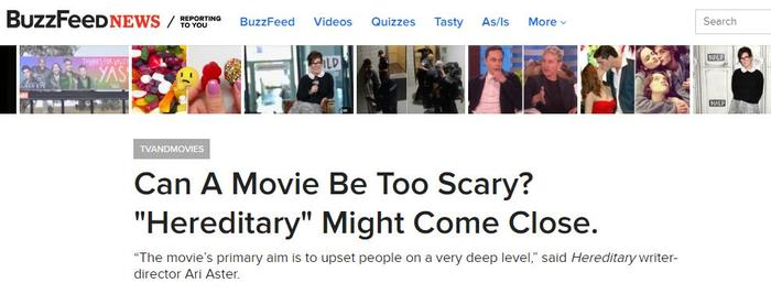 buzzfeed hereditary scary