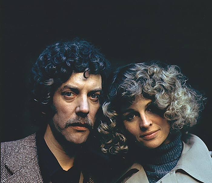 Don't Look Now, Donald Sutherland, Julie Christie