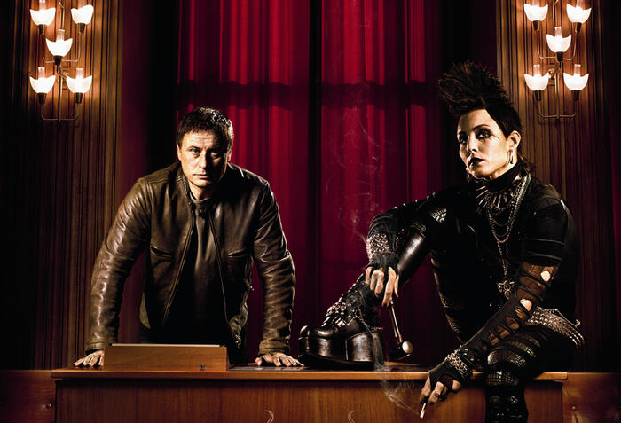 Michael Nyqvist, Noomi Rapace, The Girl Who Kicked The Hornet's Nest