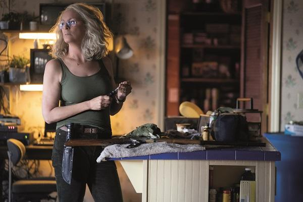 In Halloween, Jamie Lee Curtis returns to her iconic role as Laurie Strode, who comes to her final confrontation with Michael Myers, the masked figure who has haunted her since she narrowly escaped his killing spree on Halloween night four decades ago.