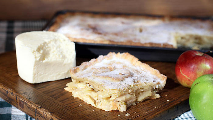 Apple and cheese pie, Paul Hollywood