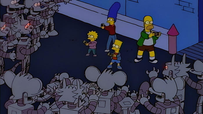 Simpsons Itchy & Scratchy land