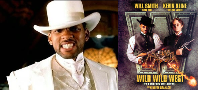Wild Wild West song and movie poster