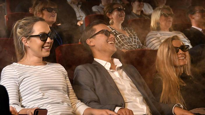 4DX is a shameless gimmick that was the most fun I've had at the