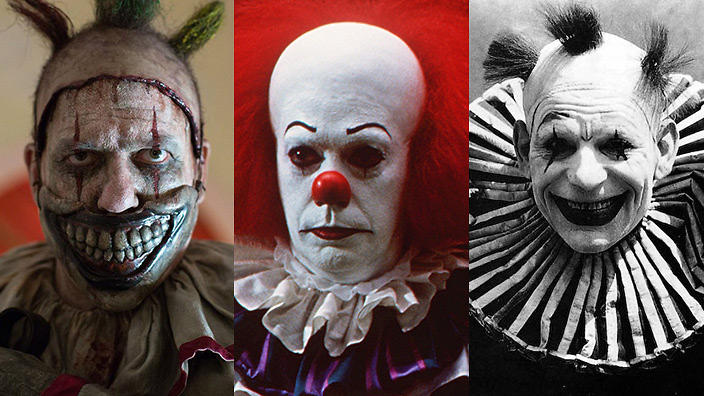 Image result for three sad clowns pictures