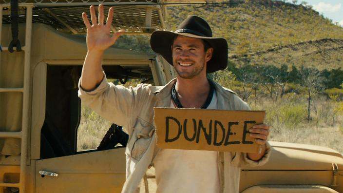 i wish the crocodile dundee remake was real � it�d be an