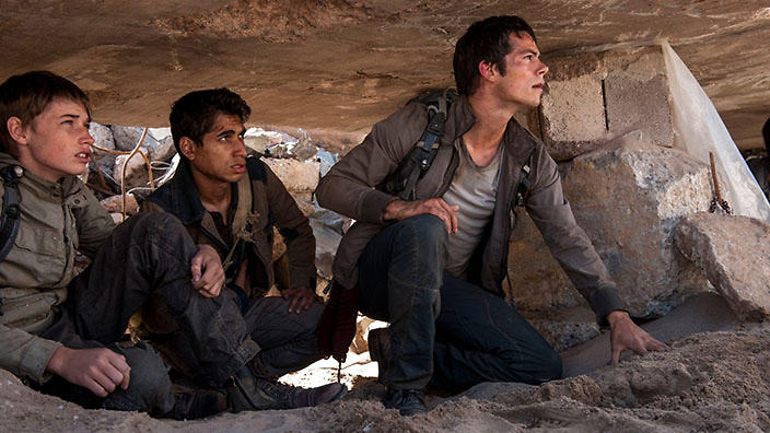 Maze Runners: The Scorched Trials
