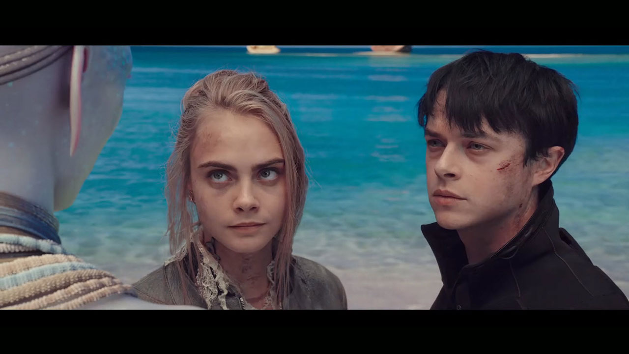 New Valerian Trailer Cara Delevingne Dane Dehaan Witness The