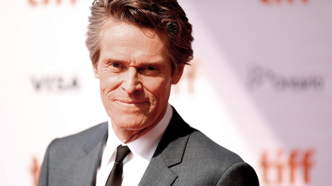 """I hope there isn't such a thing as a 'Willem Dafoe movie ..."