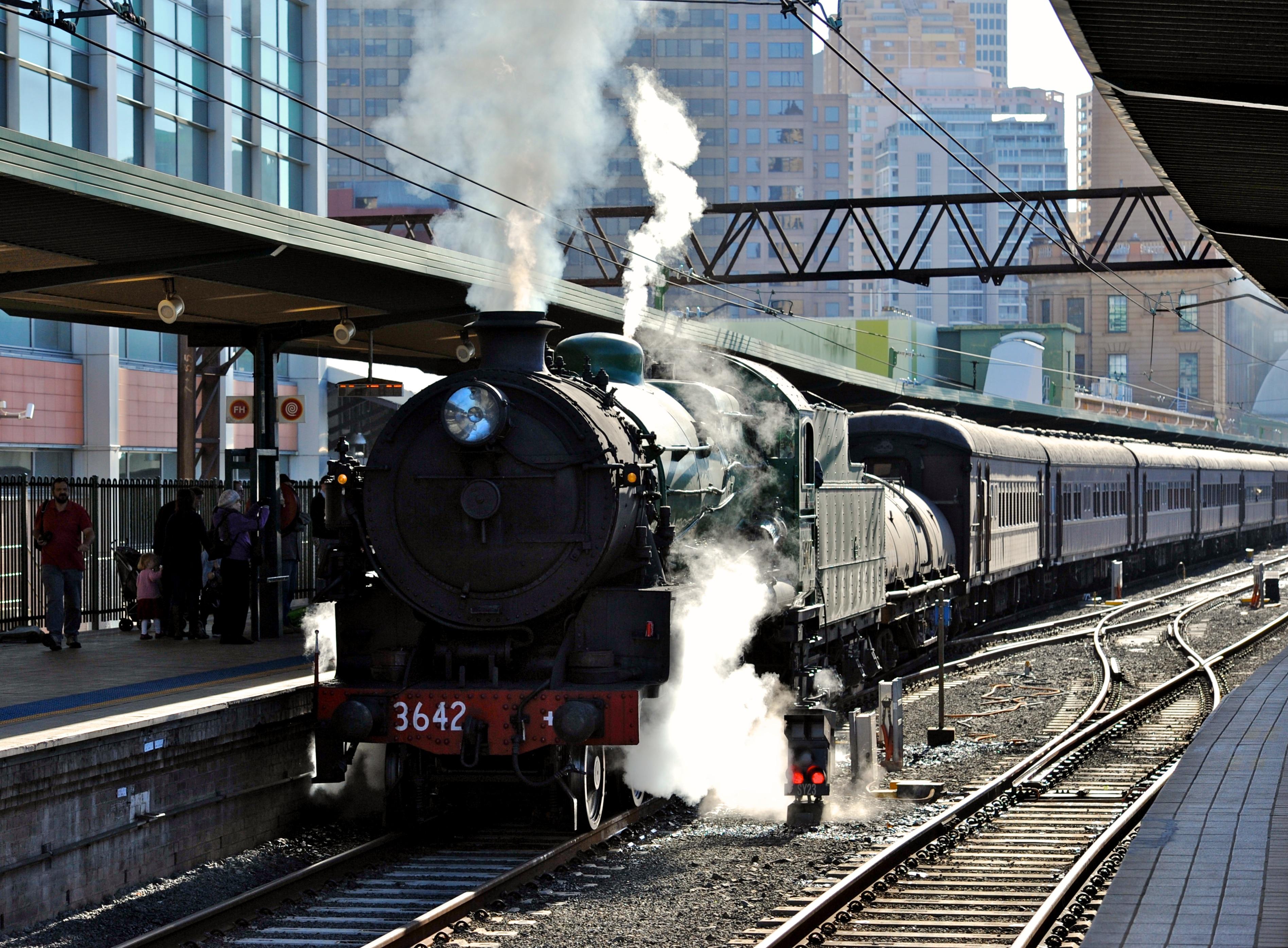 Century Old Steam Trains Race Through Sydney Suburbs Sbs