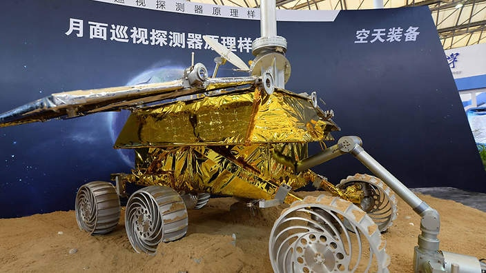 China launches first moon rover mission | SBS News