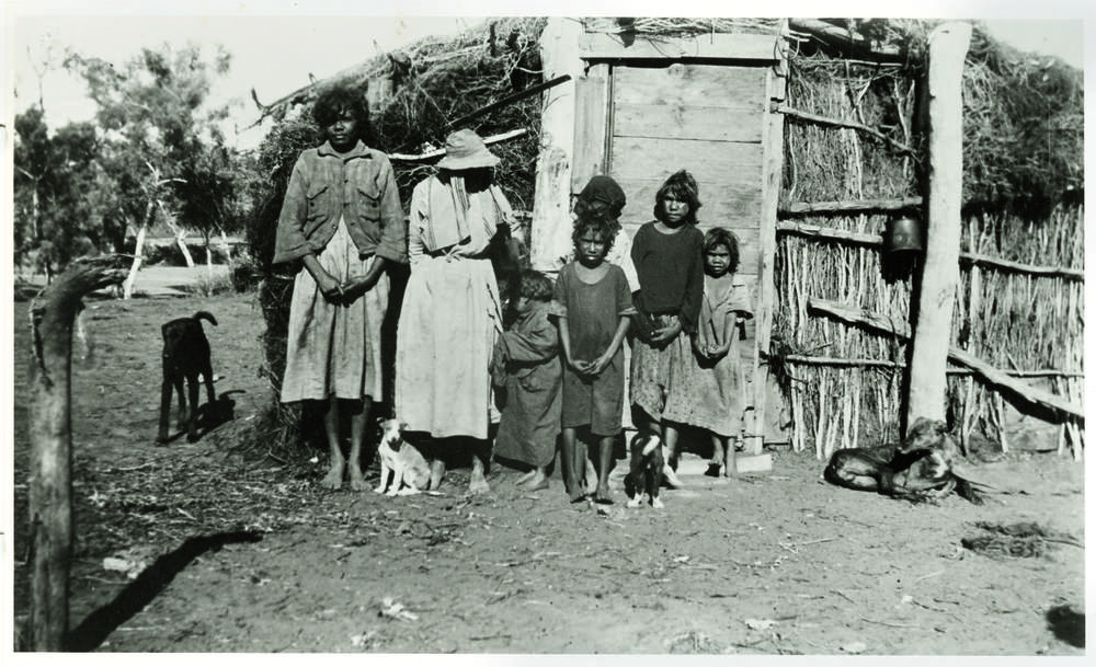 'That's how they lived', Henbury Station, NT, 1939. (Image: State Library South Australia)