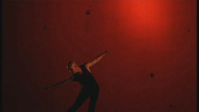 Jacob Boehme performs in Blood on the Dance Floor.