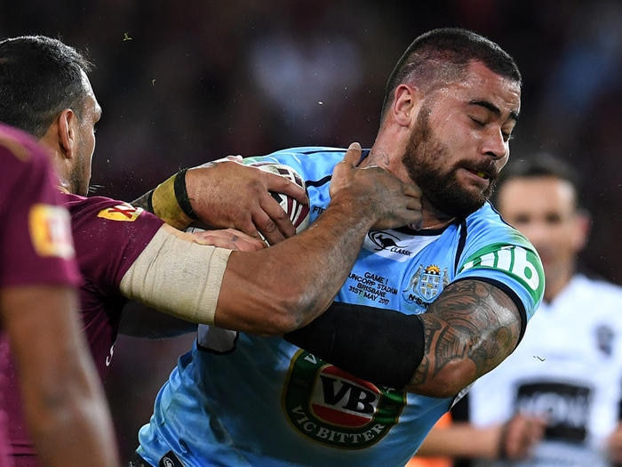 Andrew Fifita of the NSW Blues