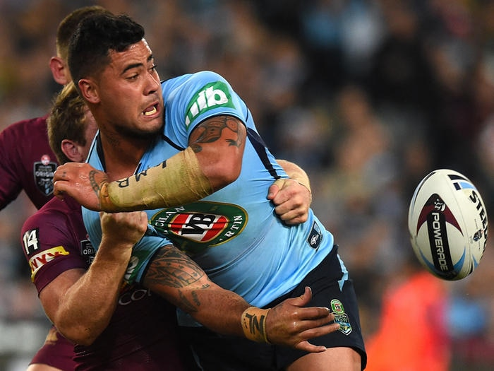 Andrew Fifita of the Blues