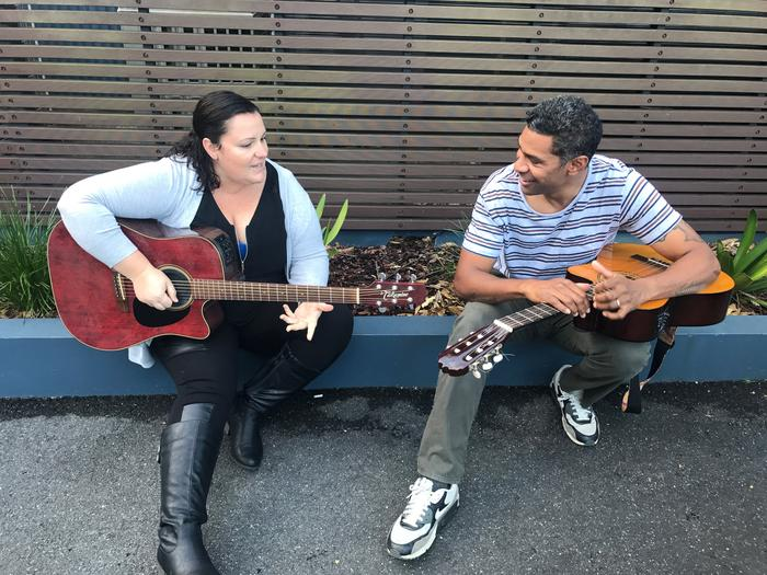 Singer/Songwriter Amber 'Missdemeanour' has a one on one mentoring session with hip hop artist Fred Leone (MC Rival)