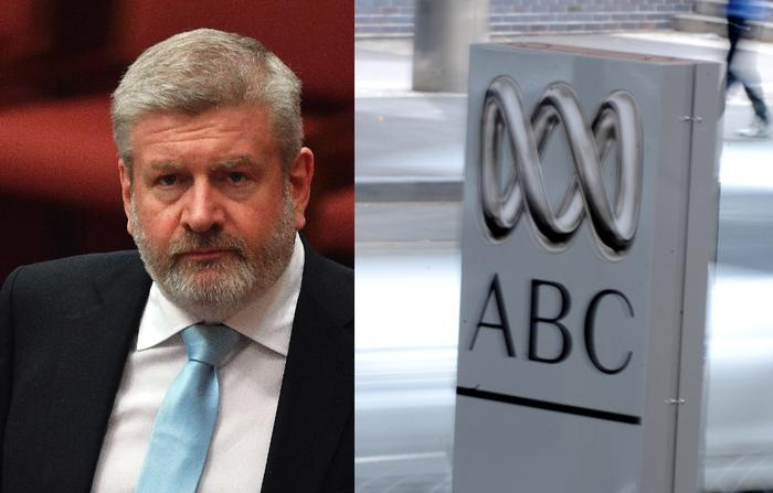 Minister for Communications Mitch Fifield (left)