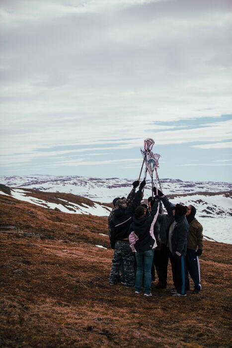 The Grizzlies lacrosse program helped bring the teen suicide rate in Kugluktuk down to zero and two decades on, the program is still running