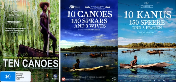 10 Canoes movie poster