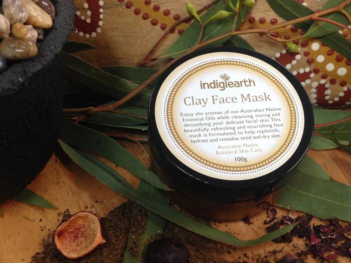 Indigearth Clay Face Mask