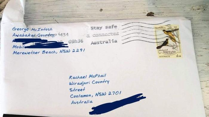 Australia Post says that Aboriginal Land should be on the address