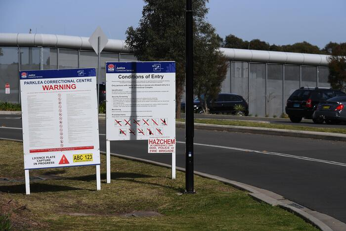The Parklea Correctional Centre in Parklea, Sydney, Monday, August 30, 2021. Parklea Correctional Centre has been placed into a strict lockdown after at least 12 prisoners contracted COVID-19. (AAP Image/Dean Lewins) NO ARCHIVING