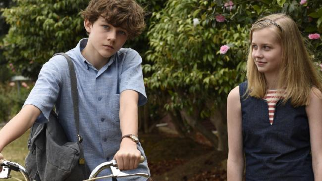 Levi Miller and Angourie Rice.