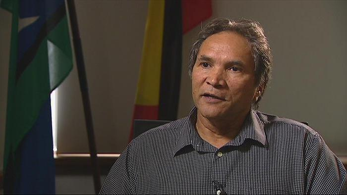 The co-chair of the National Congress of Australia's First People Rod Little.