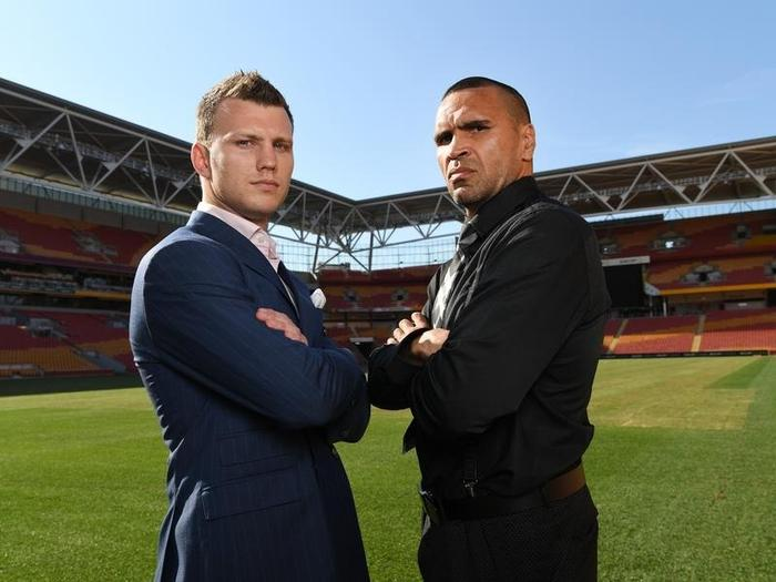 White supremacy song': Mundine takes on anthem before fight