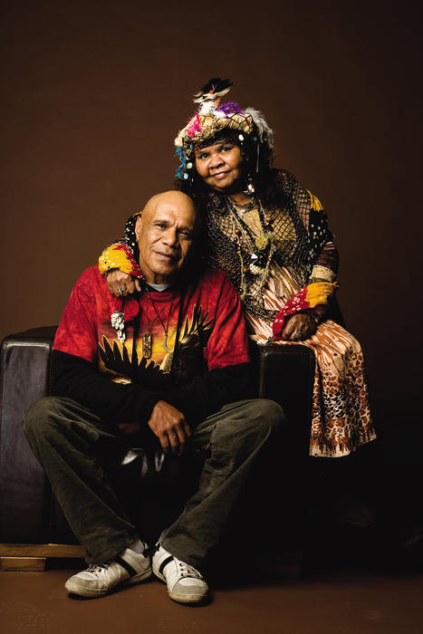 Archie Roach and Ruby Hunter.
