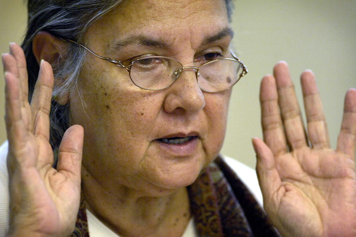 Pat Anderson, co-author of Little Children are Sacred, speaks about Northern Territory National Emergency Response Bills, Canberra 2007
