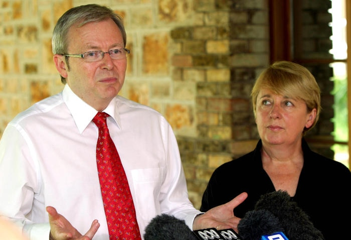 Mr Rudd says the money pledged for the Intervention into Northern Territory Indigenous communities will be paid in full