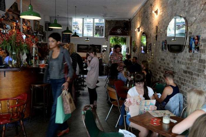 Small bars and cafes have opened up all over the area as gentrification reached a critical mass. (AAP)