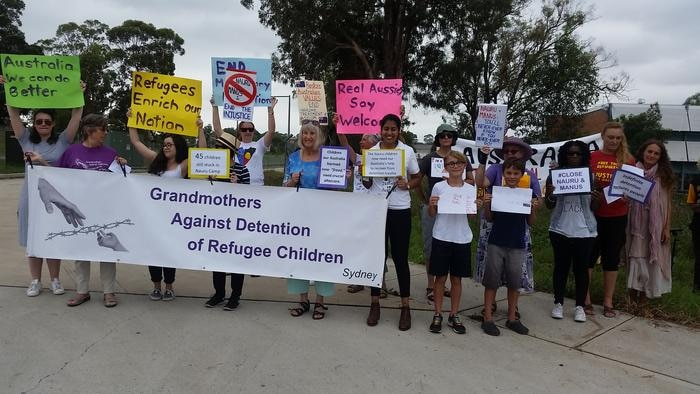 Villawood Protest, 26 January 2017