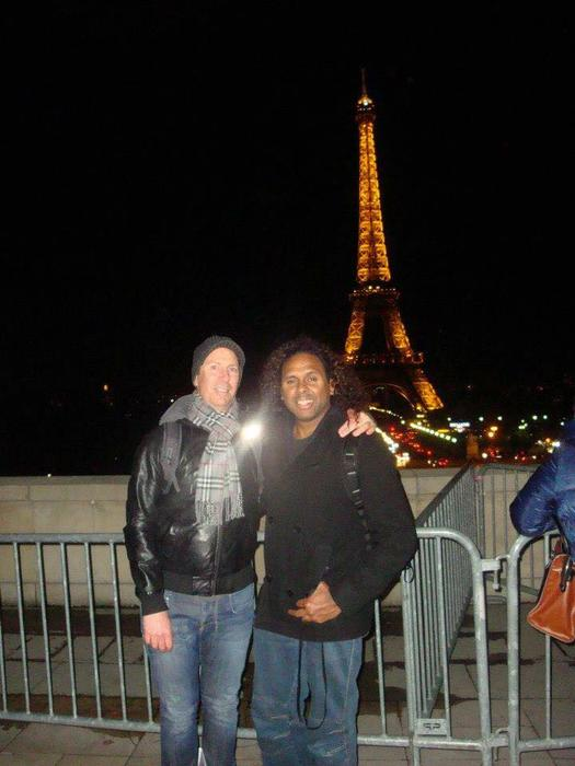Sani Ray and his partner Ross