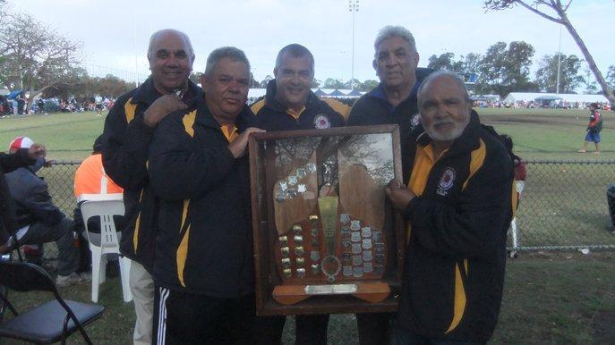 The founders of the NSW Koori Knockout competition