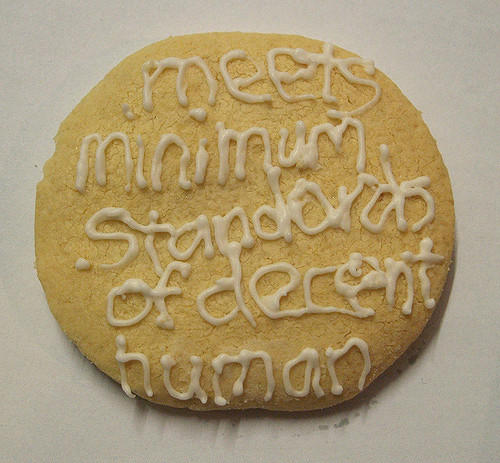 decent human cookie