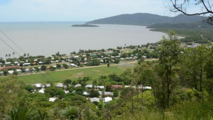 The far north Queensland community of Yarrabah, south of Cairns