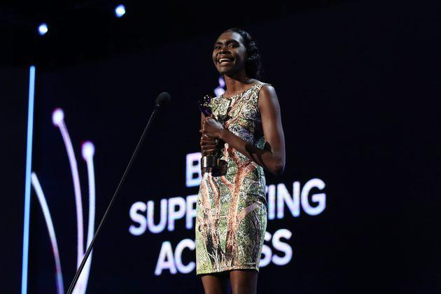 First-time nominee, Magnolia Maymuru, took out best supporting actress.