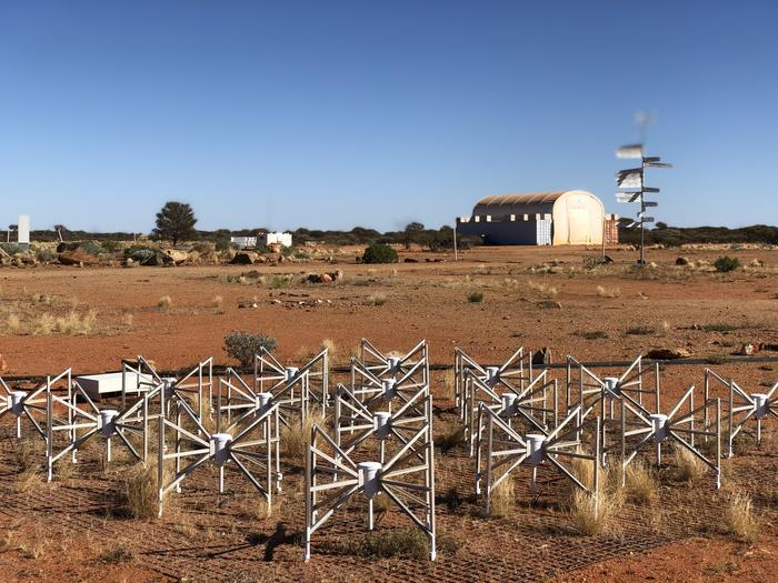 The Murchison Widefield Array is designed to perform large surveys of the southern hemisphere sky and deep observations.