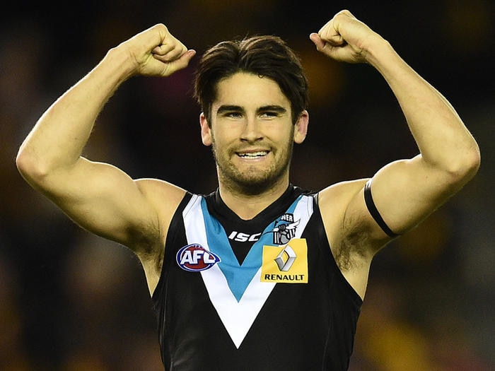 Port Adelaide Power player Chad Wingard