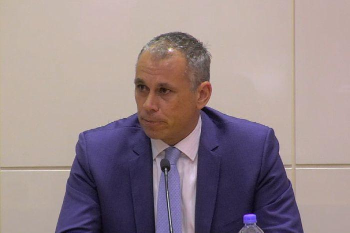 Adam Giles before the Royal Commission.