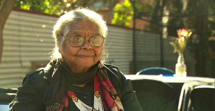 Aunty Ali Golding speaks with NITV News from the Settlement in Chippendale. Source: NITV.