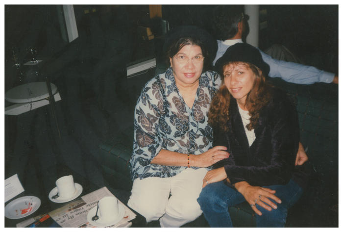 Ali Cobby with her birth mother Audrey