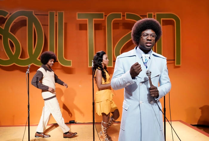 """Still of Sinqua Walls as Don Cornelius from BET's """"American Soul"""" episode 102. (Photo: Jace Downs/BET)"""