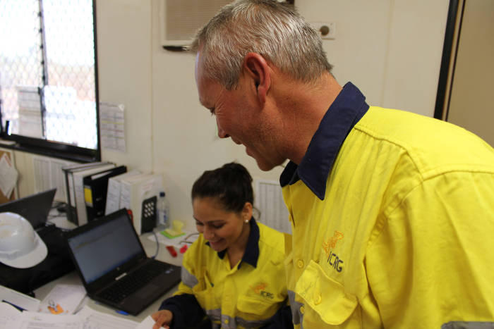 Indigenous workers contribute expertise across the board for mining operations at Christmas Creek